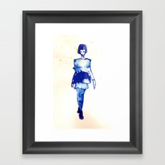 Models Ink 2 Framed Art Print