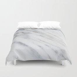 Carrara Italian Marble Duvet Cover