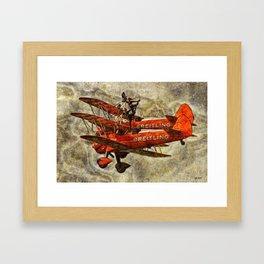 105 Breitling Wingwalkers Framed Art Print