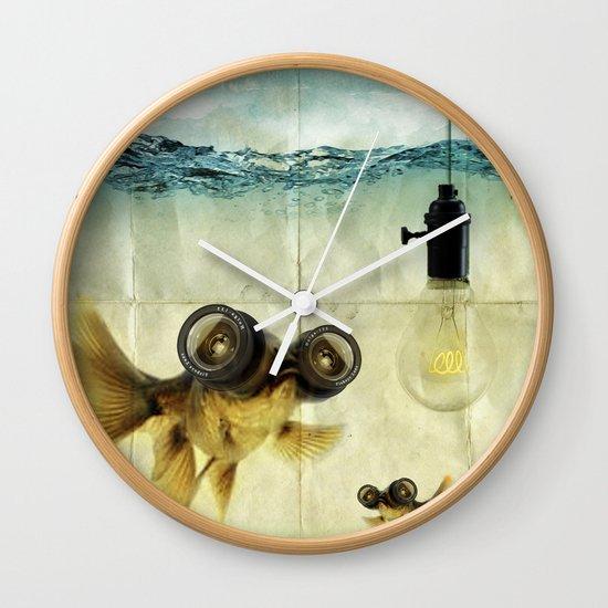 Fish Eyed Lens 03 Wall Clock