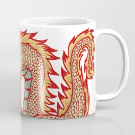 Old China Dragon Coffee Mug