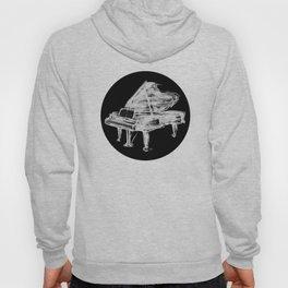 Black Piano Hoody