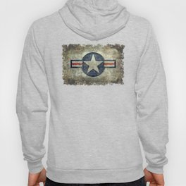 US Air force style insignia V2 Hoody
