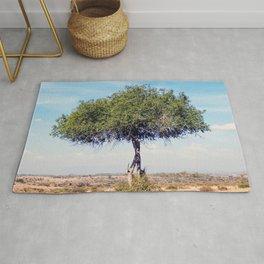 Africa Tree in Landscape Rug