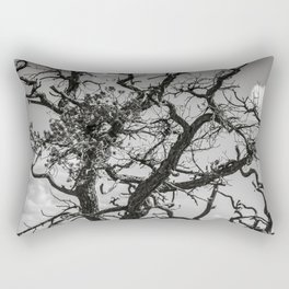 Ancient Tree, Survivor, Alive Rectangular Pillow