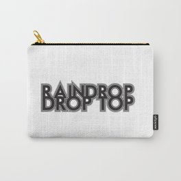 Raindrop, Drop Top Carry-All Pouch