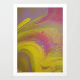 Flower Power Eruption Art Print
