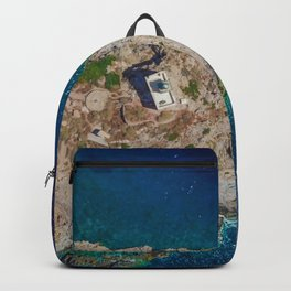 Ios, Greece Backpack