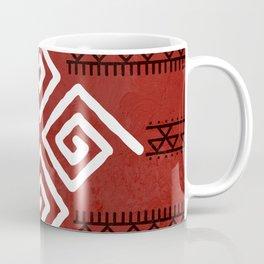 Mudcloth Tribal Pattern Coffee Mug
