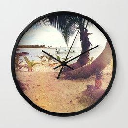 Tropical Wish Wall Clock