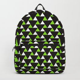Geometric Triangles Pattern Backpack