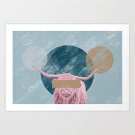 Bull Confidential Art Print