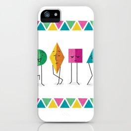 Geometry Friends iPhone Case