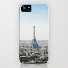Paris, France Eiffel Tower - J'aime Paris iPhone Case