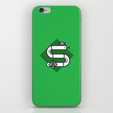 Slytherin House Crest iPhone Skin