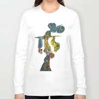 dancer Long Sleeve T-shirts featuring dancer by Marie Elke Gebhardt