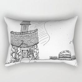 Anti-Bauhaus Rectangular Pillow