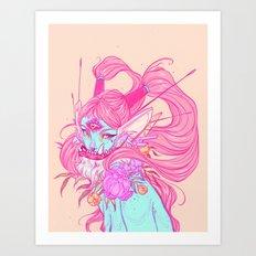 Mayumi Art Print