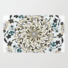 Floral Mandala Rug