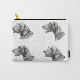 German shorthair pointer portraits Carry-All Pouch