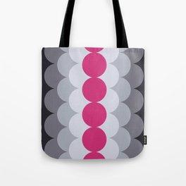 Gradual Pink Yarrow Tote Bag
