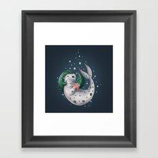 Selkie @ Play Framed Art Print