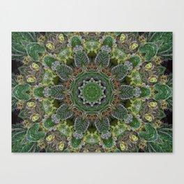 Green Queen Canvas Print