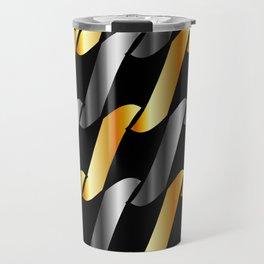 Metal texture Travel Mug