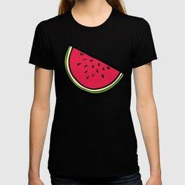 Watermelon Pattern in Pink T-shirt