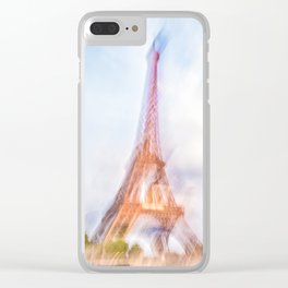 The Eiffel Tower 3 Clear iPhone Case