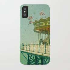 Carousel by the Sea iPhone X Slim Case