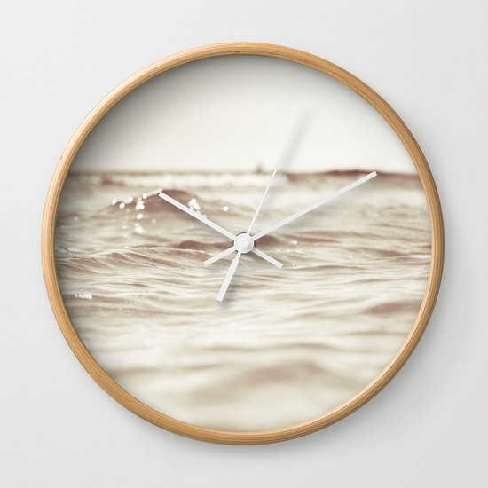 Let´s go to the bleech Wall Clock