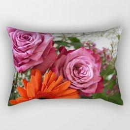 Floral Tribute Rectangular Pillow