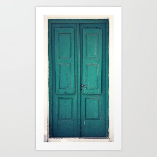 The Door is Always Closed Art Print