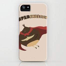Autumn and its Superhero iPhone Case