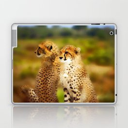 Pair of Cheetahs Laptop & iPad Skin