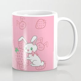 Strawberry Bunny Coffee Mug