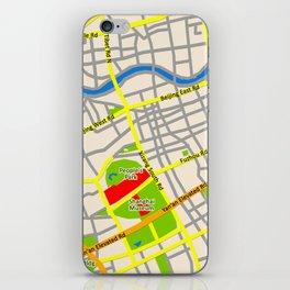 Shanghai Map Design iPhone Skin