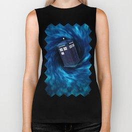 "TARDIS ""Dr. WHO"" Biker Tank"