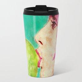 Bubble gum girl Travel Mug