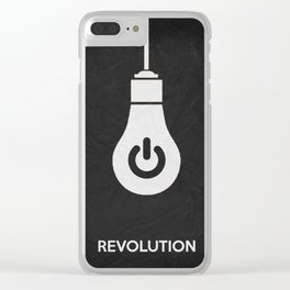 Revolution 01 Clear iPhone Case