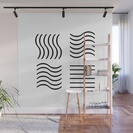 The Fifth Element (black) Wall Mural