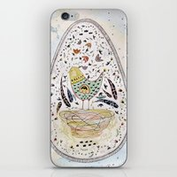 egg iPhone & iPod Skins featuring Egg by Infra_milk