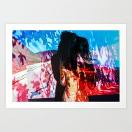 Untitled: Projection Series #17 Art Print