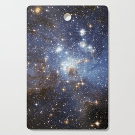 Blue Space Cutting Board