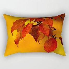 VIVID AUTUMNAL LEAVES Rectangular Pillow