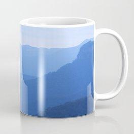 Layers of mountains at dusk, Blue Mountains, NSW, Australia Coffee Mug