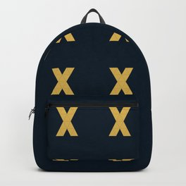 X grid pattern Backpack