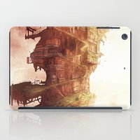 plane iPad Cases featuring Celestial Plane by Bighand illustration