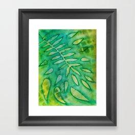Negative Nature No. 13 Framed Art Print